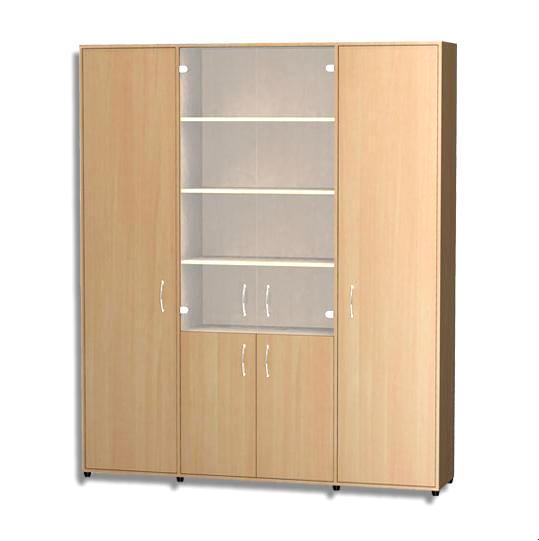 Шкаф комбинированный ШК-51 шкаф витрина мебель смоленск шк 07