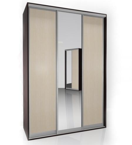 Шкаф-купе Мебелайн-2 радиусный шкаф купе мебелайн 7