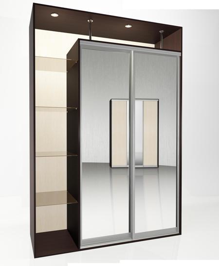 Шкаф-купе Мебелайн-4 библиотека мебелайн 4