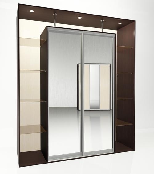 Шкаф-купе Мебелайн-5 библиотека мебелайн 4