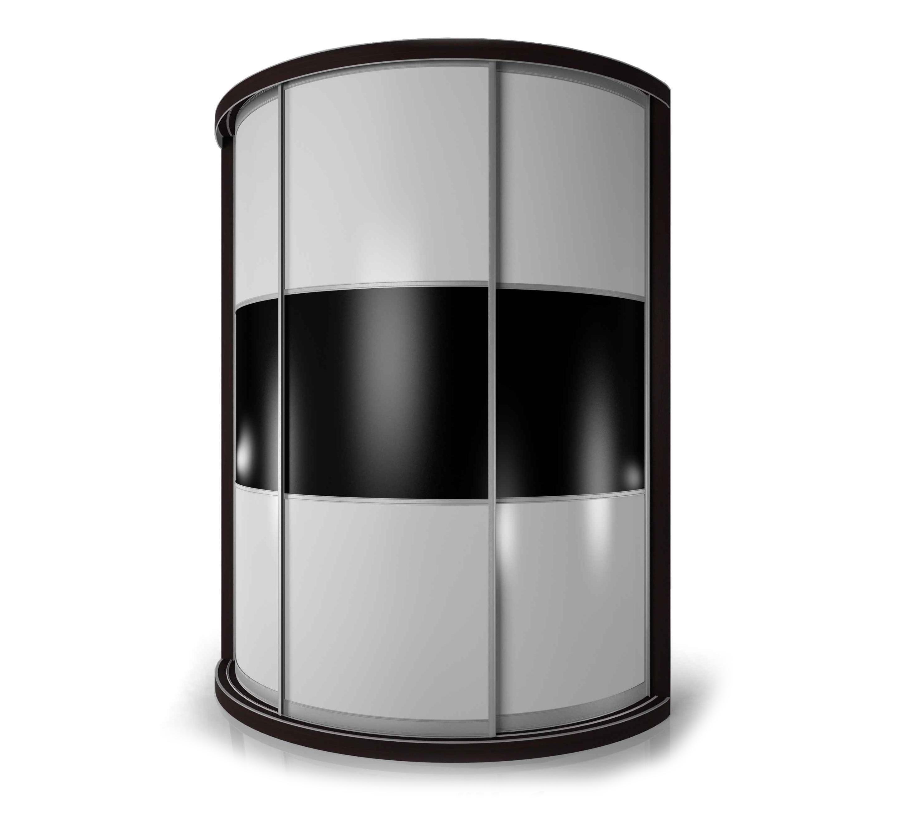 Радиусный шкаф-купе Мебелайн-10 радиусный шкаф купе мебелайн 2