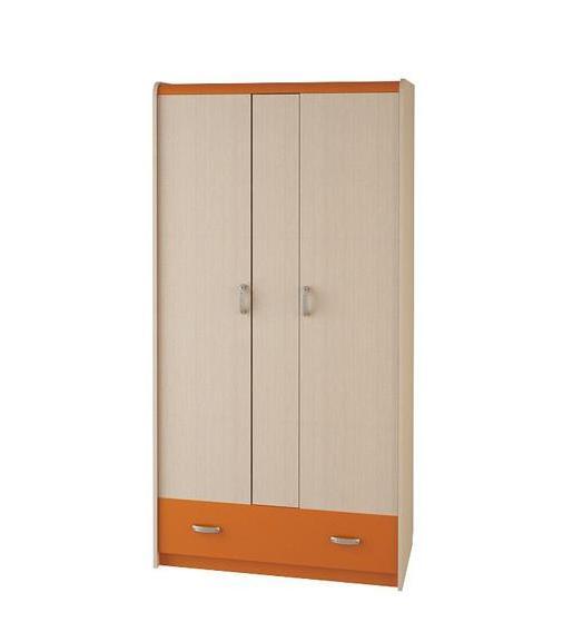 Шкаф 3-х дверный №29 (серия Ж.К.4.5М) cilek шкаф 3 х дверный cilek black pirate арт ks 1002