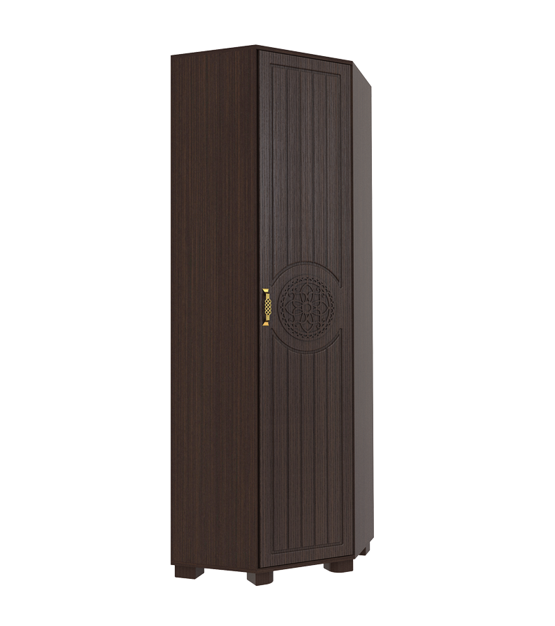 Шкаф платяной угловой Монблан МБ-2