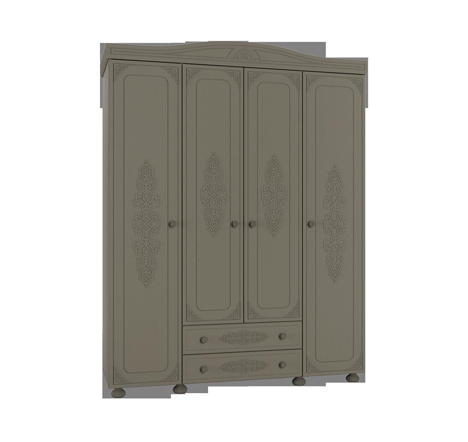 Шкаф распашной 4 двери Ассоль Плюс АС-28