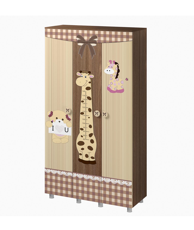 Шкаф трехстворчатый Алиса