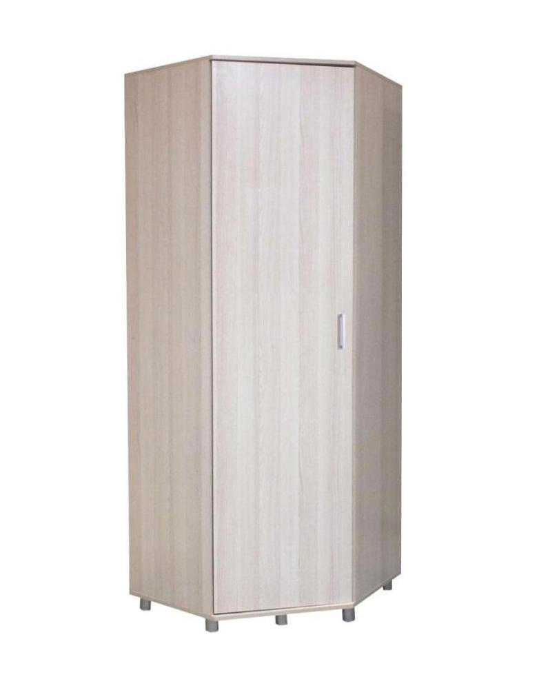 Шкаф угловой для одежды и белья Акцент