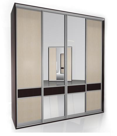 Шкаф-купе Мебелайн-3 тумба мебелайн 5