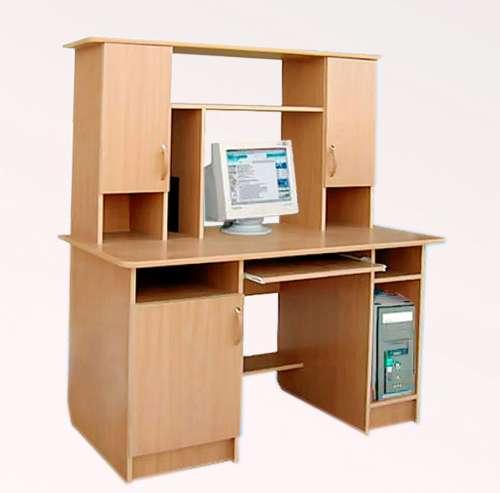 Компьютерный стол Пентиум-5Компьютерные столы<br>Размер: 1300х600 В1500<br><br>Материалы: ЛДСП, кромка ПВХ<br>Полный размер (ДхГхВ): 1300х650х1500<br>Примечание: Доставляется в разобранном виде<br>Изготовление и доставка: 8-10 дней<br>Условия доставки: Бесплатная по Москве до подъезда<br>Условие оплаты: Оплата наличными при получении товара<br>Доставка по МО (за пределами МКАД): 30 руб./км<br>Доставка в пределах ТТК: Доставка в центр Москвы осуществляется ночью, с 22.00 до 6.00 утра<br>Подъем на лифте: 300 руб.<br>Подъем без лифта: 150 руб./этаж<br>Сборка: 1000 руб.<br>Гарантия: 12 месяцев<br>Производство: Россия<br>Производитель: Mebelus