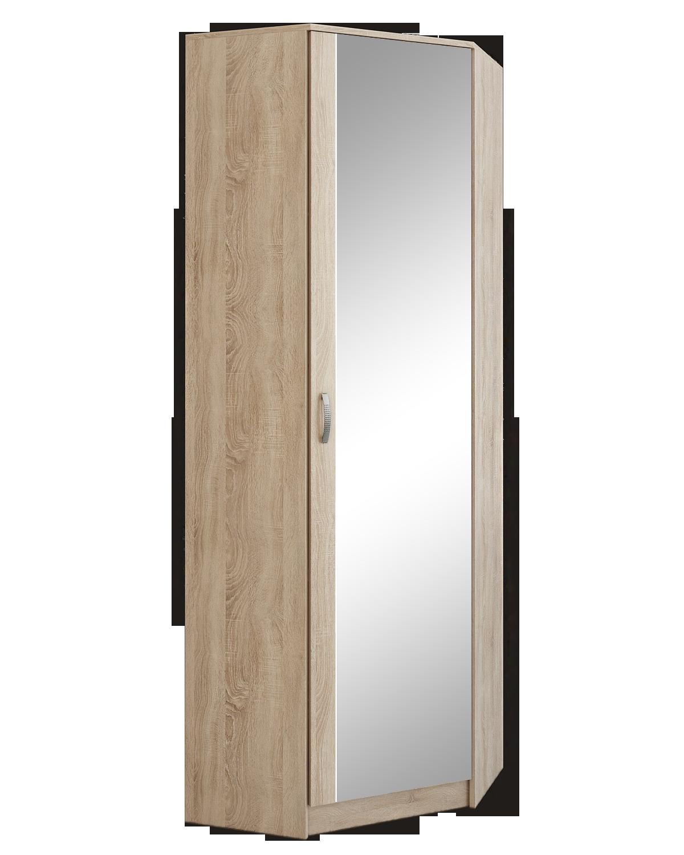 Шкаф угловой с зеркалом Ольга (ШУЗ)