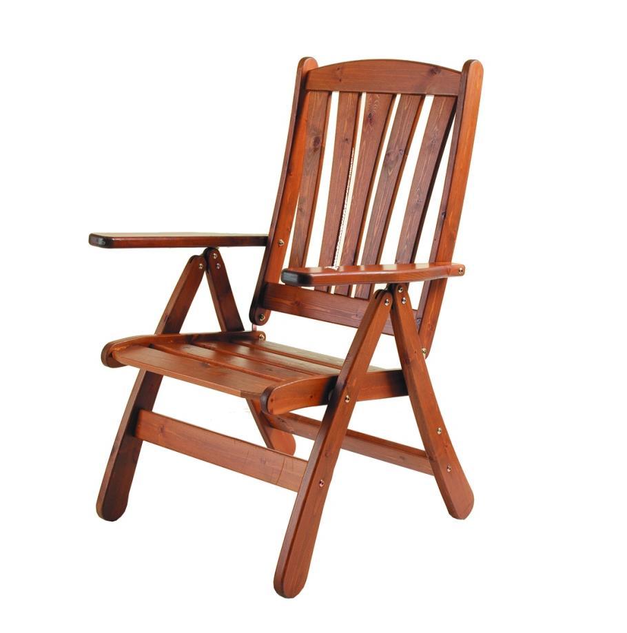 Кресло из сосны Solhaga
