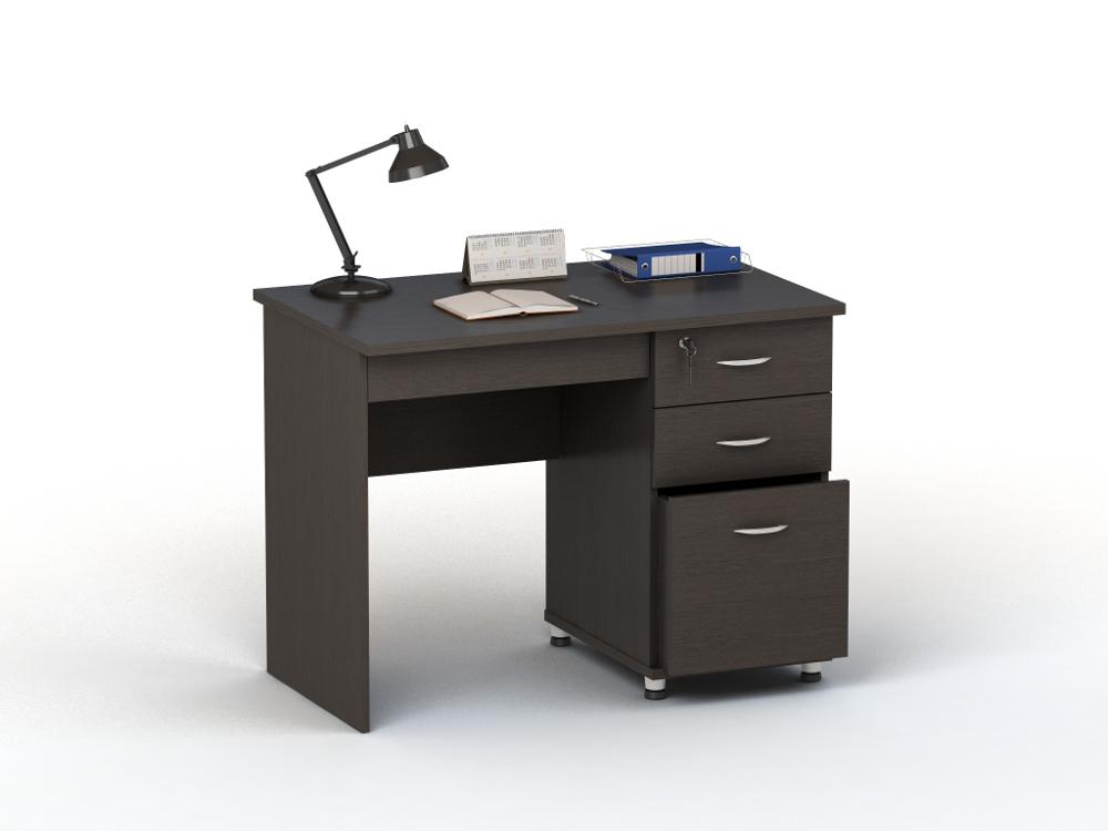 Письменный стол ПС 40-03 письменный стол двухтумбовый пс 40 07 венге шатура столы и стулья