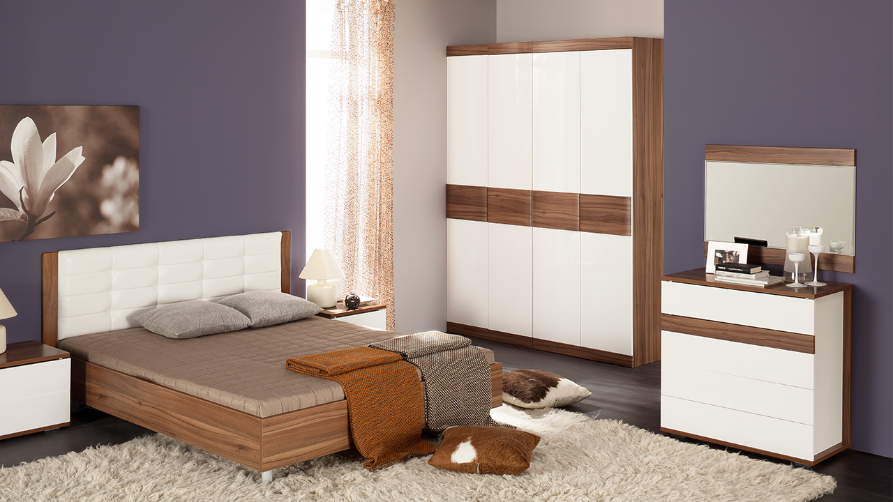 Модульная Спальня Рио №3 ТриЯ