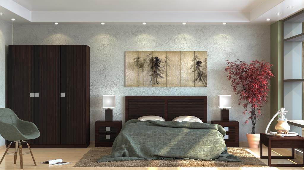 Модульная спальня Александрия Вариант-3