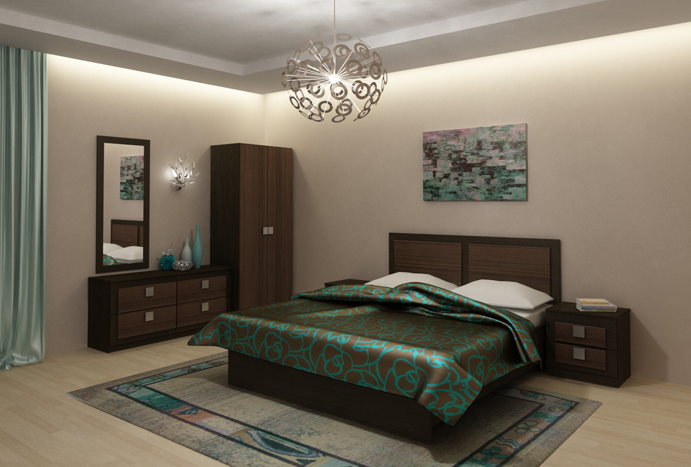 Модульная спальня Александрия Вариант-1 минимойка интерскол ам 120 1700 [503 1 0 00]