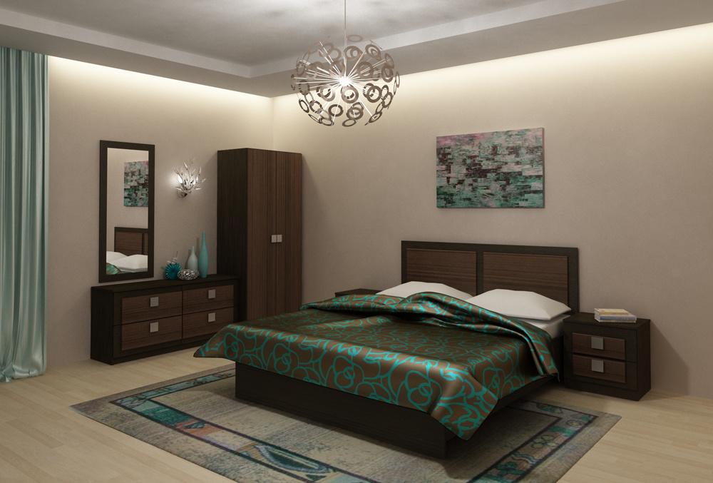 Модульная спальня Александрия Вариант-1