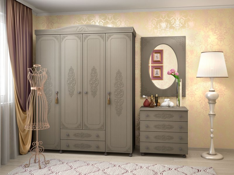 Модульная спальня Ассоль Плюс-2 цена и фото