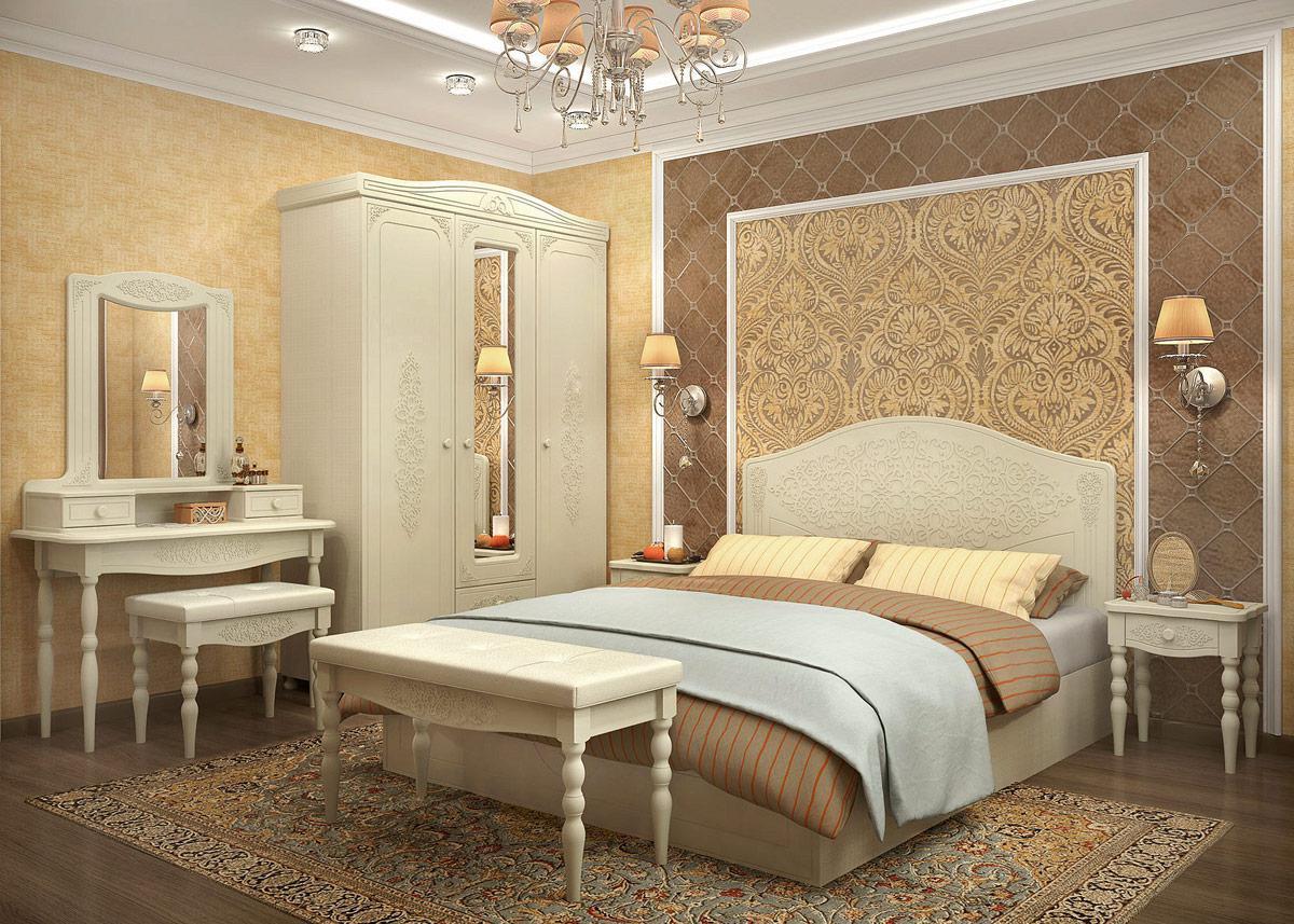 Модульная спальня Ассоль Плюс-3 цена и фото