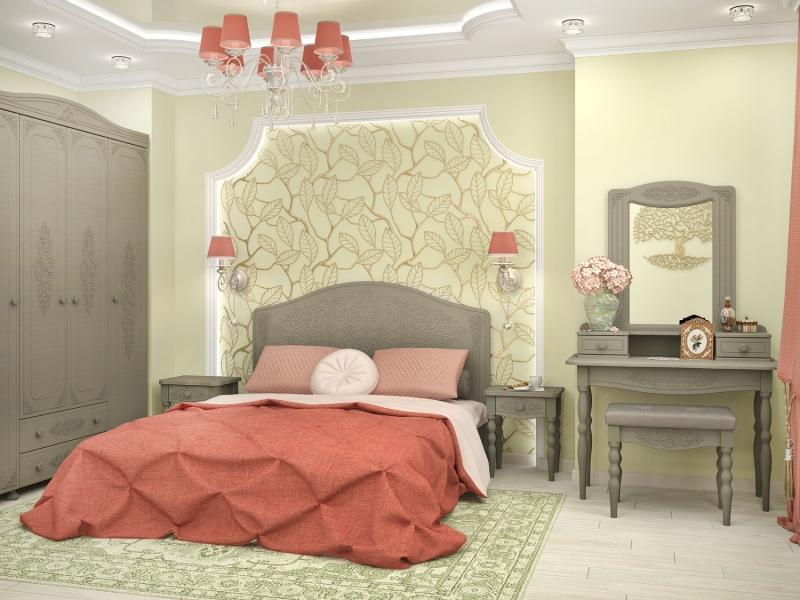 Модульная спальня Ассоль Плюс-4 ассоль xpb60 717g