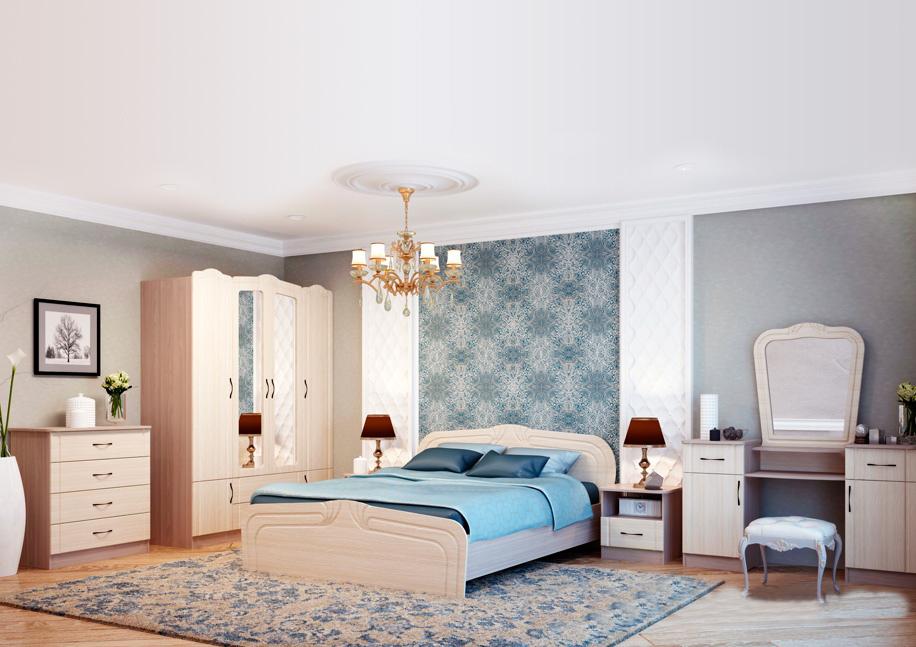 Модульная спальня Фея модульная спальня магия комплектация 2
