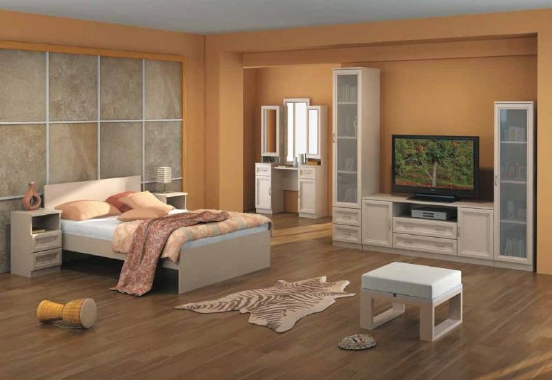 Модульная спальня Гарун комплектация 1 модульная библиотека гарун комплектация 1