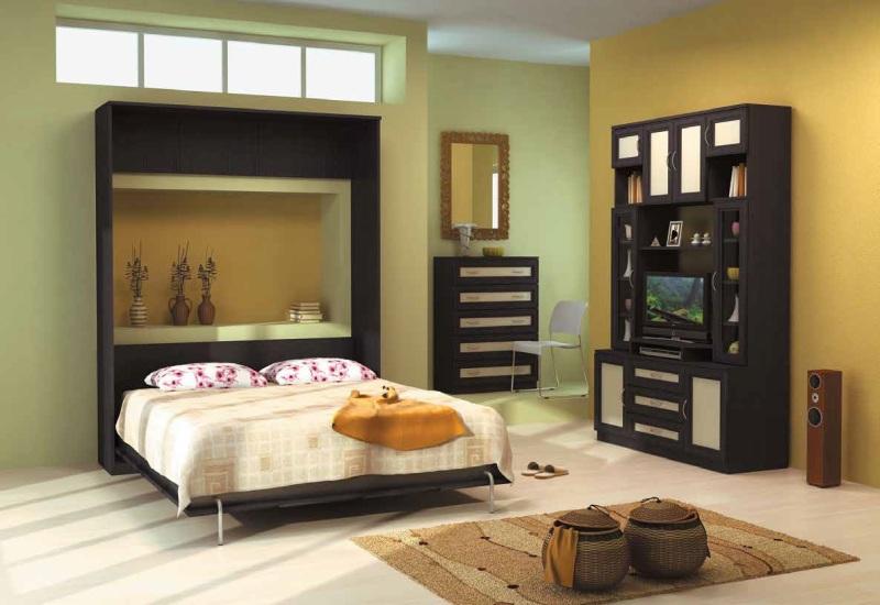 Модульная спальня Гарун комплектация 3 комод лидер 3 2