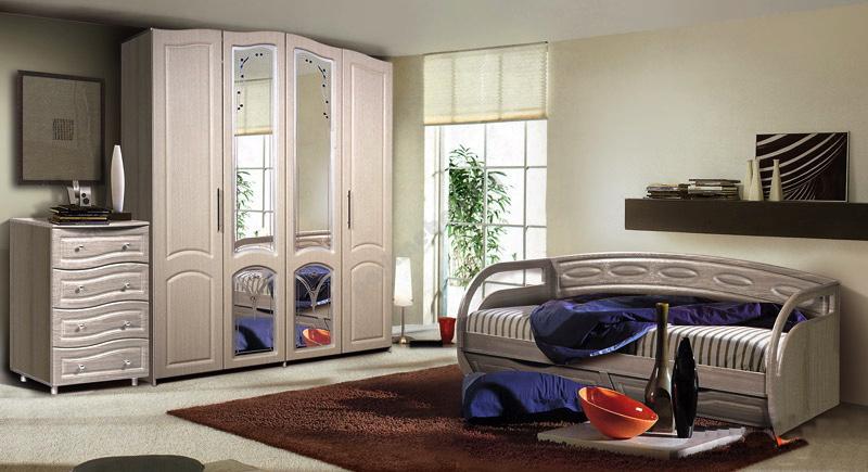Модульная спальня Клеопатра Комплектация №1