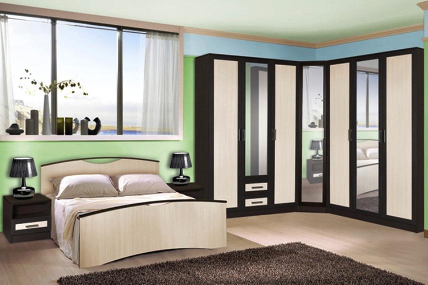 Спальня Милена-4 шкаф обувной бона 4