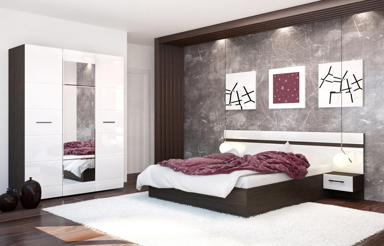 Модульная спальня Нэнси модульная спальня магия комплектация 2