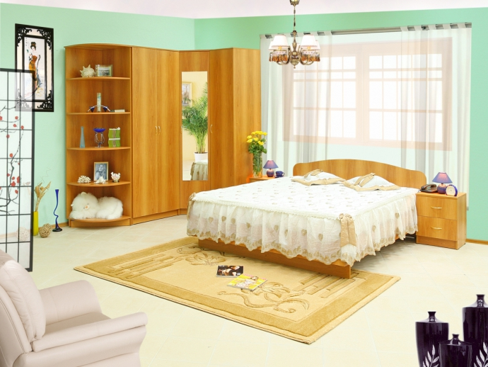 Спальня Светлана-12 шкаф good 2