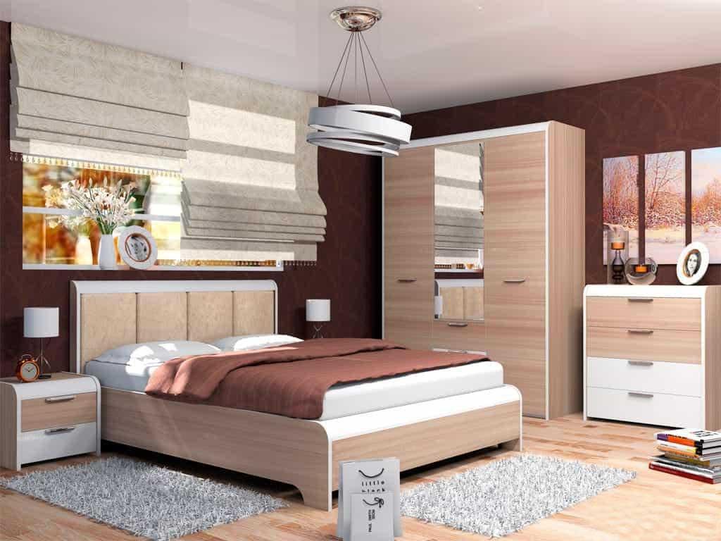 Модульная спальня Виктория модульная спальня магия комплектация 2