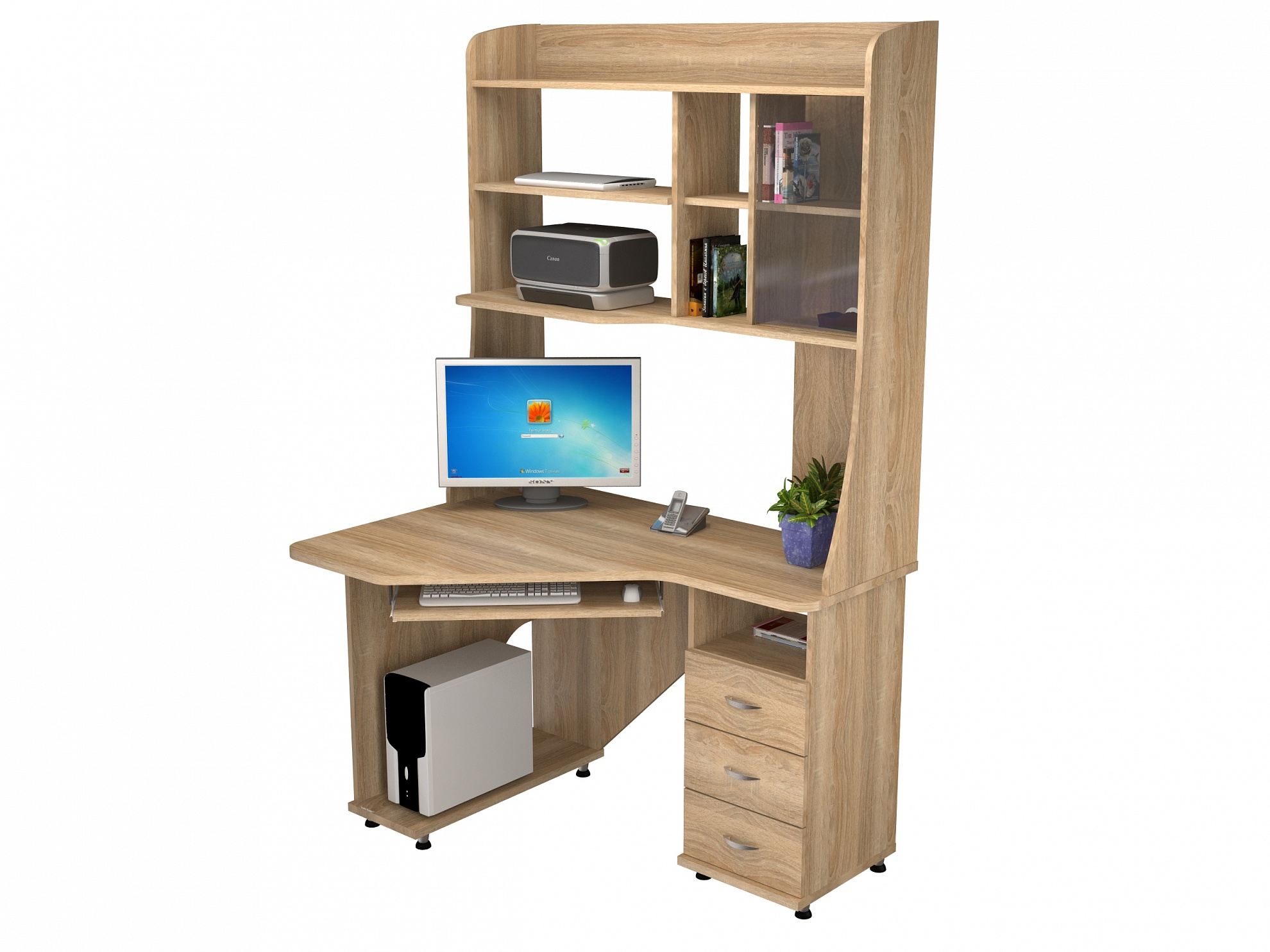 Компьютерный стол КС 20-29 компьютерный стол кс 20 16м3