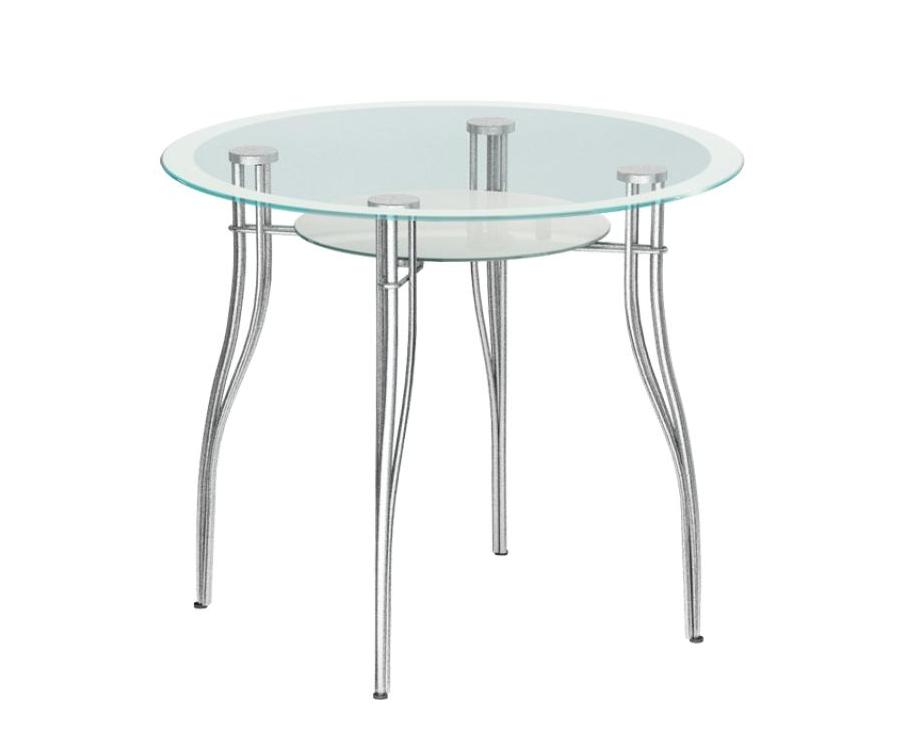 Стеклянный кухонный стол Мебелайн-1