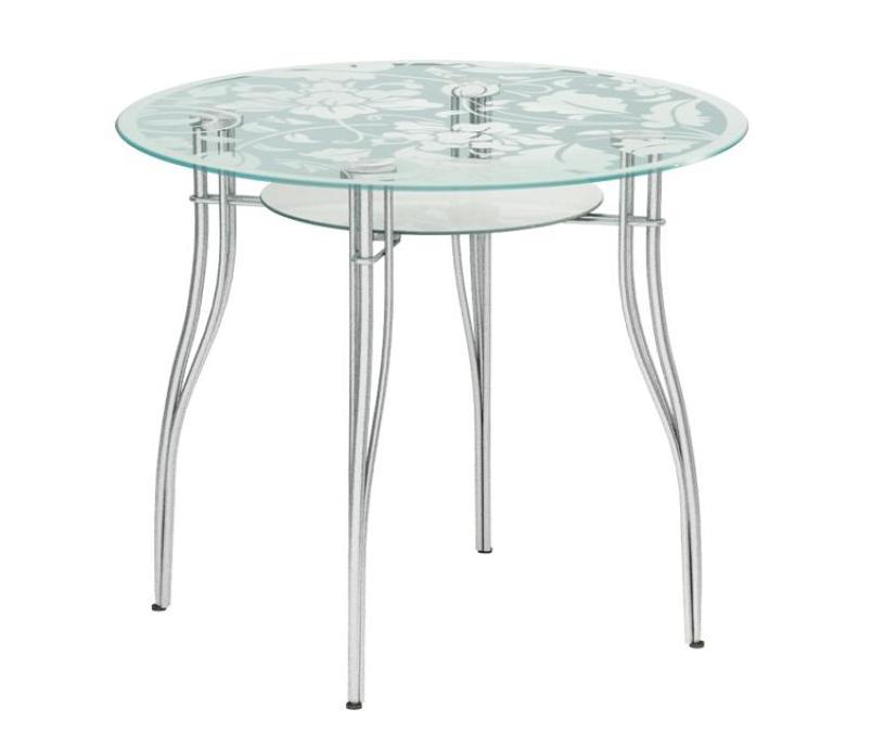 Стеклянный кухонный стол Мебелайн-3