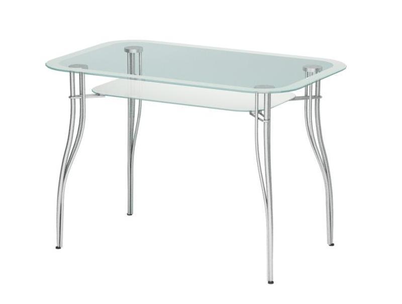 Стеклянный кухонный стол Мебелайн-4 библиотека мебелайн 4