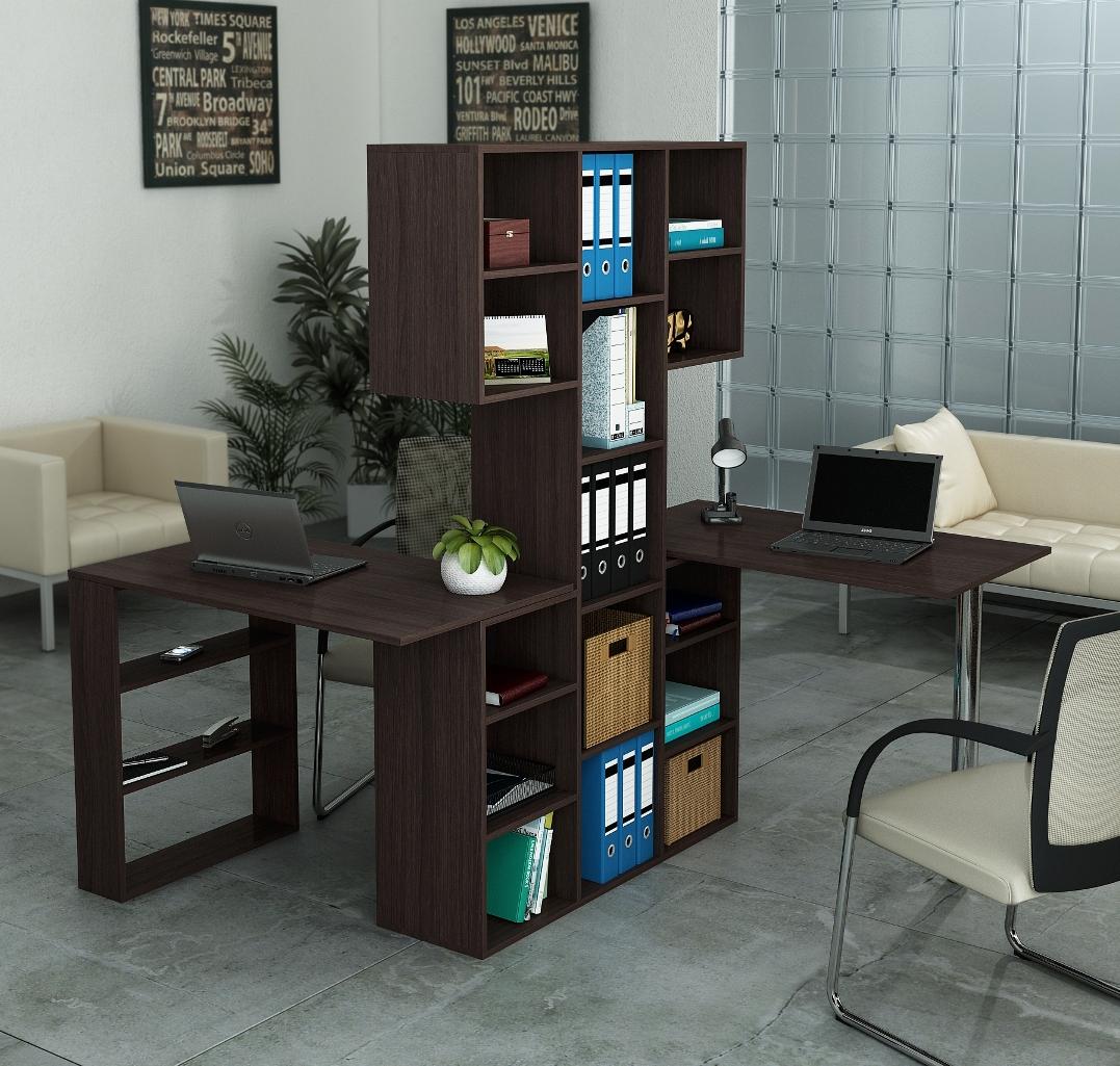 Стеллаж Рикс 3+Стол Рикс 5+6Компьютерные столы<br>Размер:1038х300х1716<br><br>Материалы: ЛДСП, кромка ПВХ<br>Полный размер: Стеллаж: 1038х1716х300; Стол: 1100х600х750<br>Вес товара (кг): 65,3<br>Примечание: Цвет стола может отличаться от основного цвета изделия<br>Изготовление и доставка: 5-7 дней<br>Количество упаковок: 6 шт.<br>Условия доставки: Бесплатная по Москве до подъезда<br>Условие оплаты: Оплата наличными при получении товара<br>Доставка до ТК в пределах МКАД: За МКАД 35 руб./км<br>Подъем на грузовом лифте: 550 руб.<br>Подъем без лифта: 550 руб./этаж (включая первый)<br>Сборка: 800 руб. Осуществляется в течение 1-2 дней после доставки<br>Гарантия: 24 месяца<br>Производство: Россия<br>Производитель: МФ Мастер