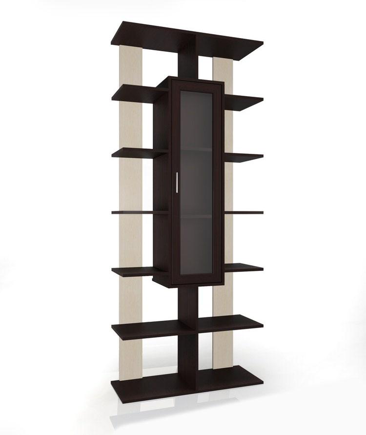 Стеллаж Мебелайн - 3 библиотека мебелайн 4