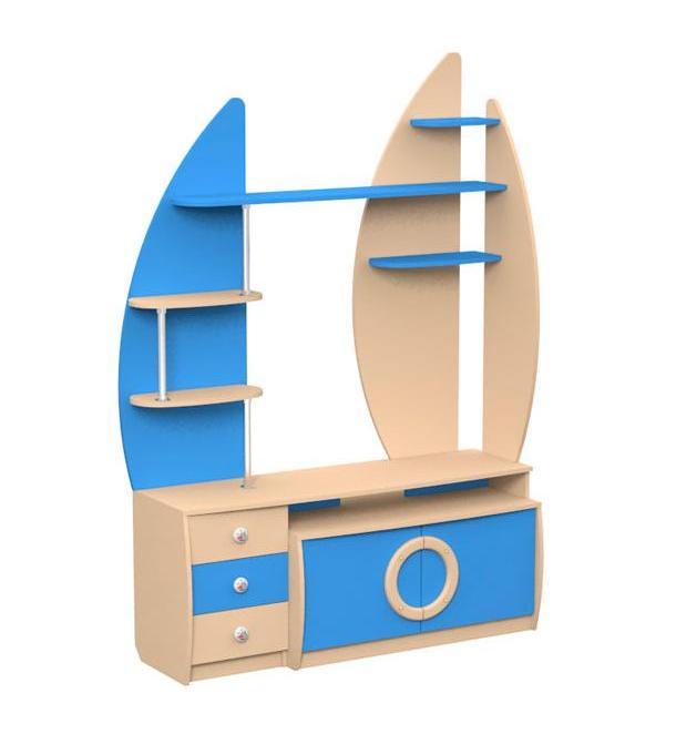 Стеллаж для книг и игрушек Юнга