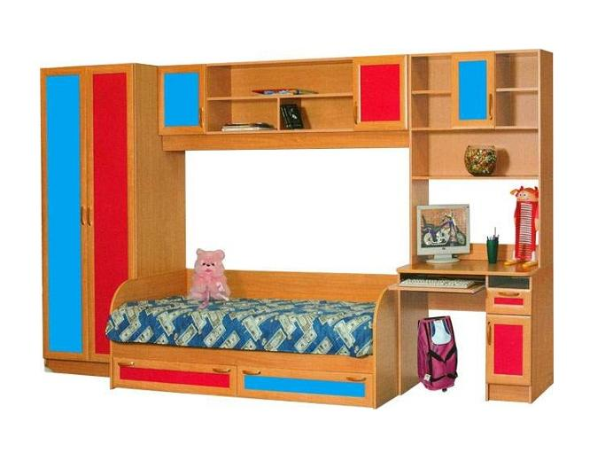 Детская комната Белоснежка МДФ