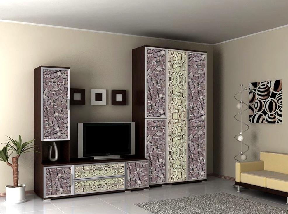 Стенка Аврелия-4 Люкс стенка лотос 4