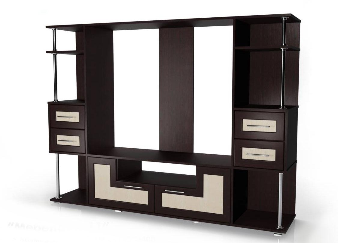 Стенка Мебелайн-11 библиотека мебелайн 4