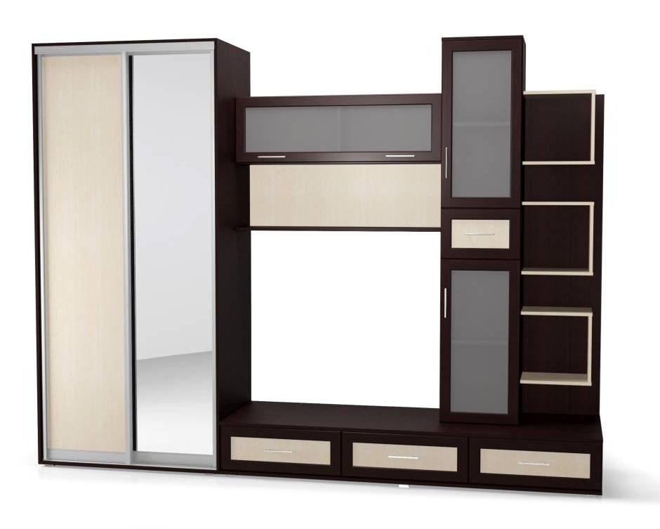 Стенка Мебелайн-15 тумба мебелайн 5