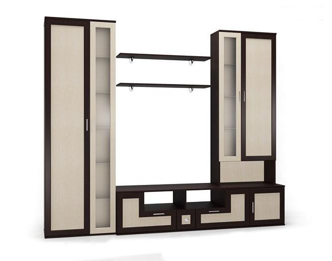 Стенка Мебелайн-9 стенка мебелайн 5