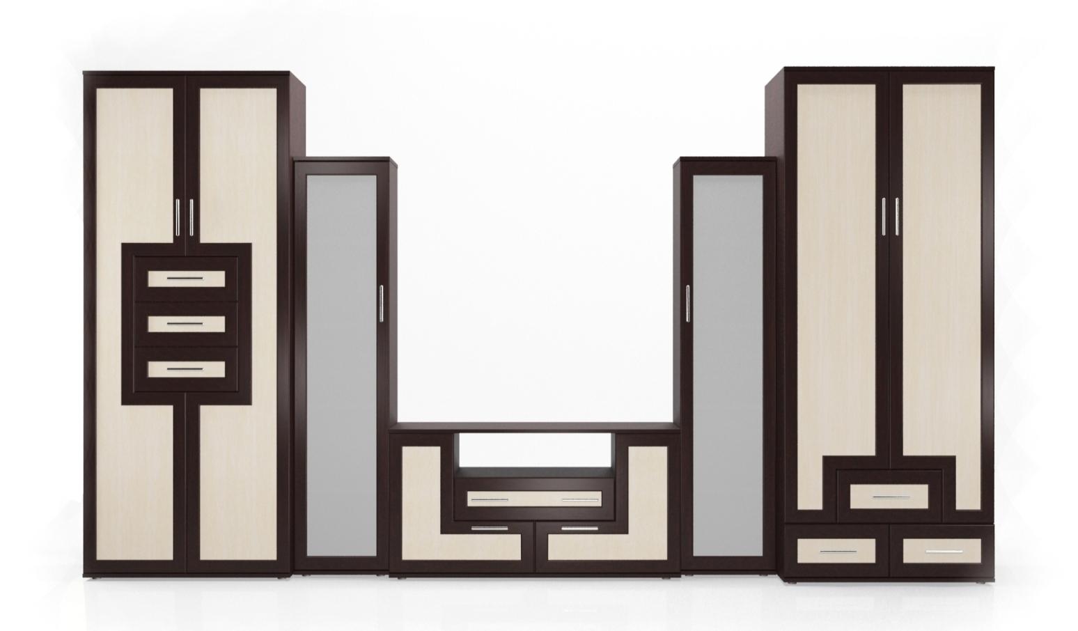 Стенка Мебелайн-5 стенка с крючками в 5