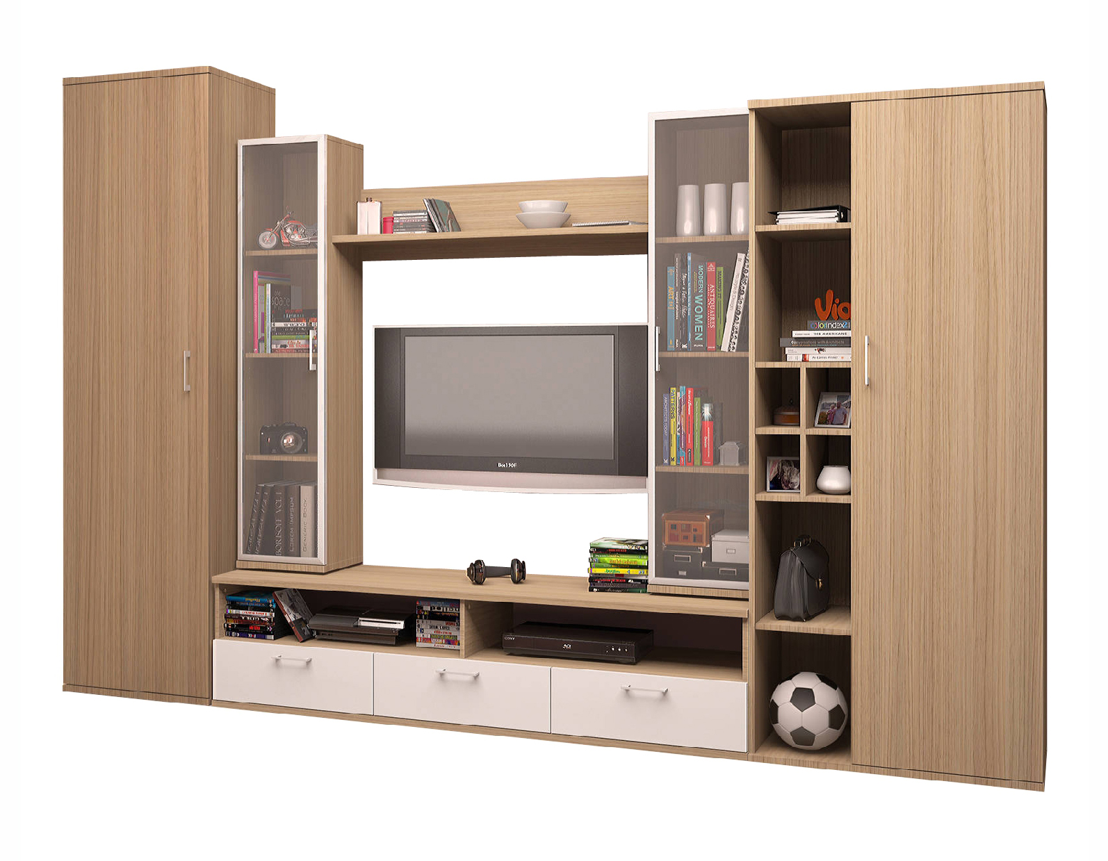 Стенка МозерСтенки<br>Размер: 3200х2150х470<br><br>Материалы: ЛДСП Kronospan - 16 мм., кромка ПВХ - 0,4 мм., стекло<br>Полный размер (ДхВхГ): 3200х2150х470<br>Ниша под ТВ: 1078х1077<br>Наполнение шкафа: Высокий шкаф платяной, низкий шкаф бельевой<br>Примечание: Доставляется в разобранном виде<br>Важно: Цвет рамки темно-серый, крайне редко можно изменить<br>Изготовление и доставка: 10-14 дней<br>Условия доставки: Бесплатная по Москве до подъезда<br>Условие оплаты: Оплата наличными при получении товара<br>Доставка по МО (за пределами МКАД): 30 руб./км<br>Доставка в пределах ТТК: Доставка в центр Москвы осуществляется ночью, с 22.00 до 6.00 утра<br>Подъем на грузовом лифте: 800 руб.<br>Подъем без лифта: 400 руб<br>Сборка: 10% от стоимости изделия<br>Гарантия: 12 месяцев<br>Производство: Россия<br>Производитель: Grey