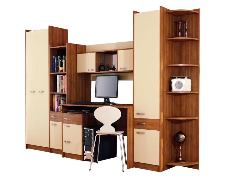Детская модульная стенка Юниор капитан детская и взрослая модульная мебель мдф