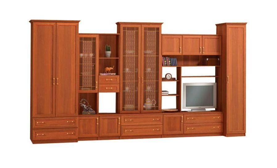 Стенка в гостиную Бравия-1Стенки<br>Размер: 4000х2300х600/500/380<br><br>Материалы: ЛДСП, рамка МДФ<br>Полный размер (ДхВхГ): 4000х2300х600/500/380<br>Ниша под ТВ: 768х790<br>Примечание: Ручки пластиковые в цвет мебели!<br>Изготовление и доставка: 8-10 дней<br>Условия доставки: Бесплатная по Москве до подъезда<br>Условие оплаты: Оплата наличными при получении товара<br>Доставка по МО (за пределами МКАД): 30 руб./км<br>Доставка в пределах ТТК: Доставка в центр Москвы осуществляется ночью, с 22.00 до 6.00 утра<br>Подъем на грузовом лифте: 800 руб.<br>Подъем без лифта: 400 руб./этаж<br>Сборка: 10% от стоимости изделия<br>Гарантия: 12 месяцев<br>Производство: Россия<br>Производитель: Mebelus