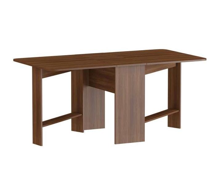 Стол-книжка С-4Обеденные столы<br>Размер: 32/168х90х75<br><br>Материалы: ЛДСП, кромка ПВХ<br>Полный размер (ДхГхВ): 32/168х90х75<br>Вес товара (кг): 33, объем 0,06 куба<br>Цвет: Орех, дуб молочный, венге<br>Изготовление и доставка: 2-3 дня<br>Условия доставки: Бесплатная по Москве до подъезда<br>Условие оплаты: Оплата наличными при получении товара<br>Доставка по МО (за пределами МКАД): 30 руб./км<br>Подъем на лифте: 500 руб.<br>Сборка: 1000 руб.<br>Гарантия: 12 месяцев<br>Производство: Россия<br>Производитель: Наша мебель (Дик)