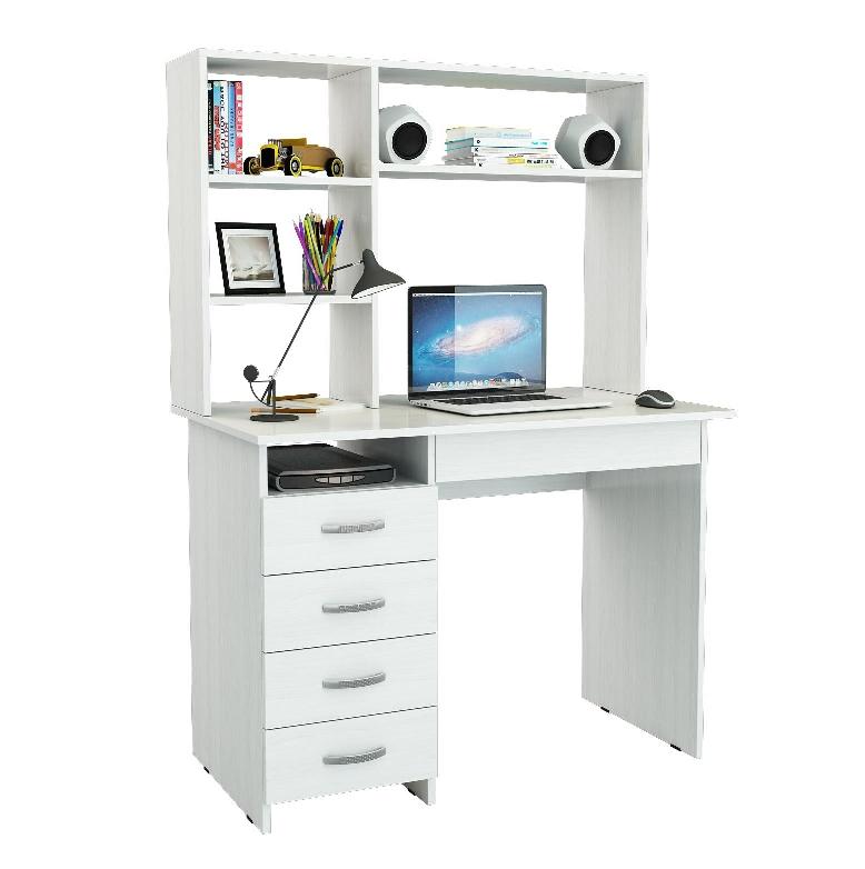 Письменный стол Милан-1 с надставкой МФ Мастер