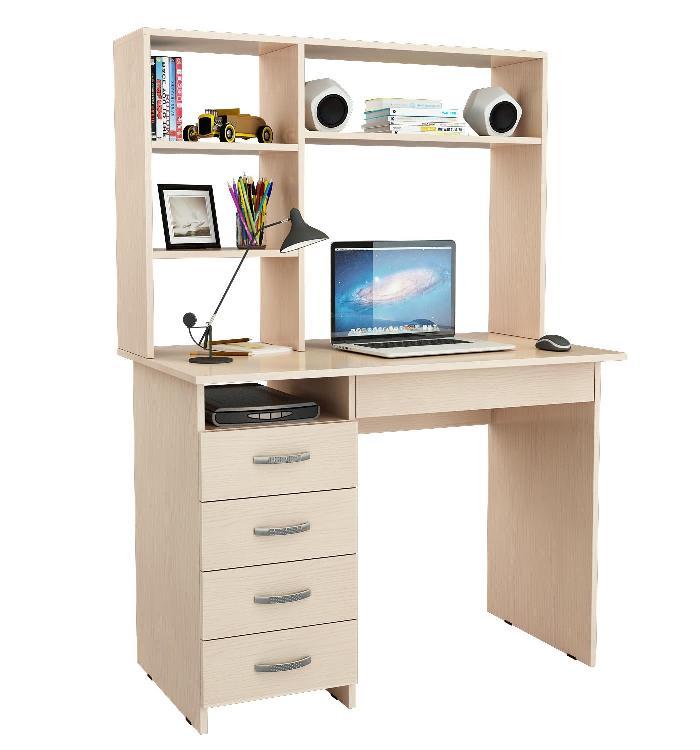 Письменный стол Милан-1 с надставкой письменный стол васко соло 021