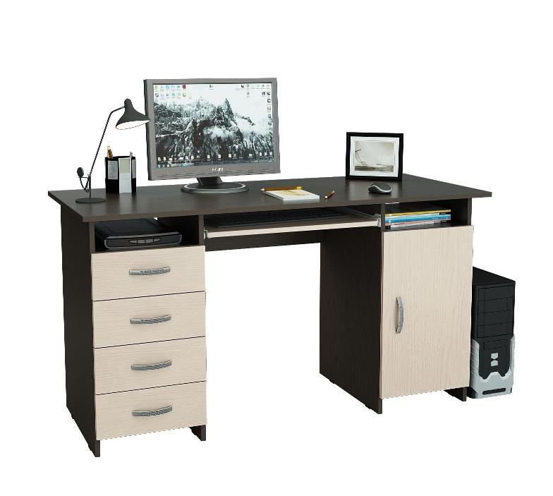 Компьютерный стол Милан-7П NEW МФ Мастер